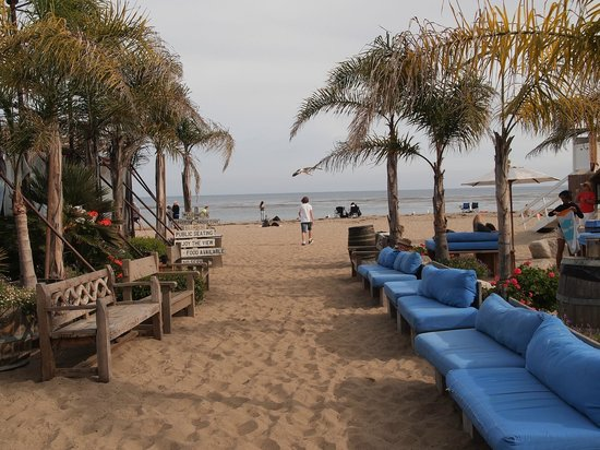 great setting picture of paradise cove beach cafe