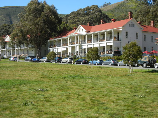 Cavallo Point: The restaurant housed in renovated Army building