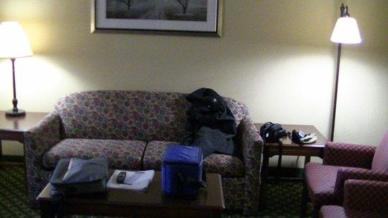 Hampton Inn Louisville-Northeast: looking into function room