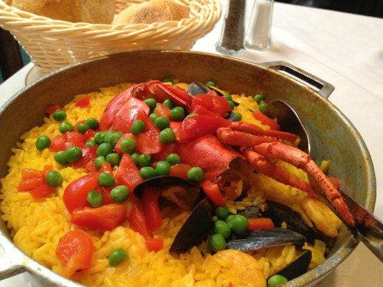 Casa Vasca: paella marinera