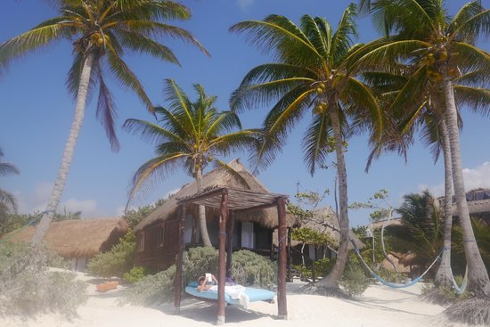Tulum Hemingway Cabanas Hemingways One Of The Beach