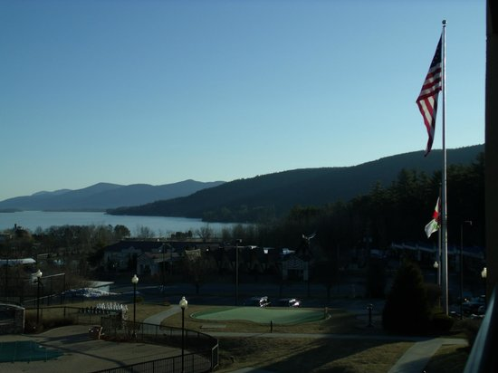 T.R.'s Restaurant: View of Lake George from the complex.