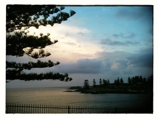 Kiama, Australia: the view at the end of the street (1 min walk)