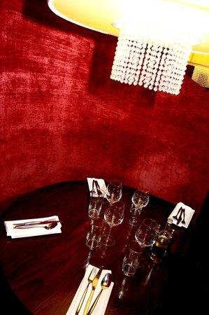 Restaurant Novello : Nos chaleureuses banquettes