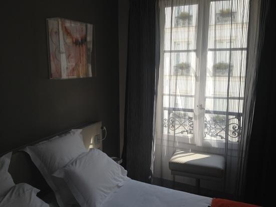 Hotel du Cadran Tour Eiffel: camera doppia standard