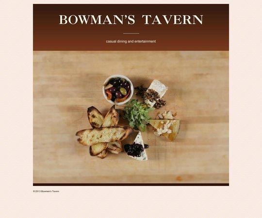 Bowman's Tavern : home