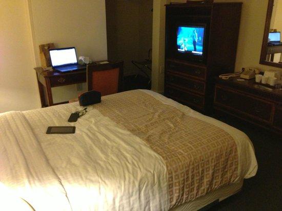 Americana Hotel: The room