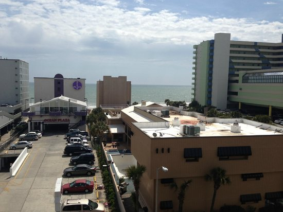 Quality Inn & Suites Myrtle Beach : view of the sea