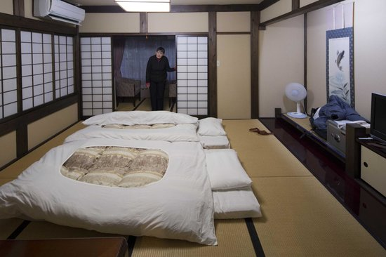 Ryokan Murayama: A spacious room by Japanese standards