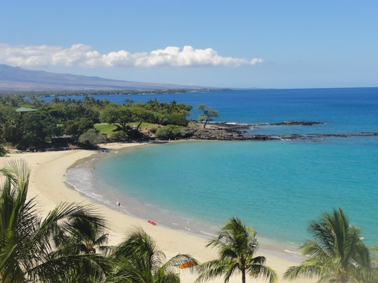 Mauna Kea Beach Hotel, Autograph Collection: room view (tough to beat!)