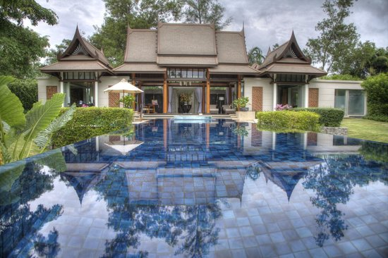 Banyan Tree Phuket: View of room from other end of infinity pool