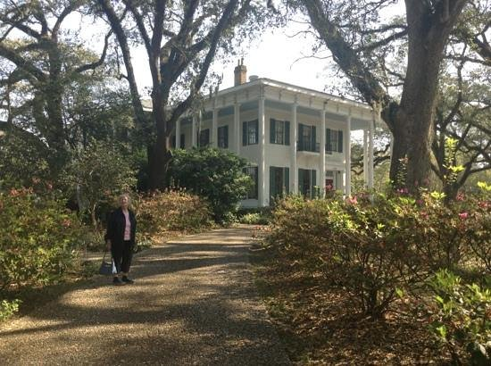 Mobile, AL: Enjoy walking the pathways around the home