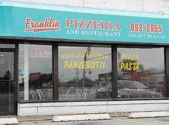 Franklin Pizza Kitchener Restaurant Reviews Phone