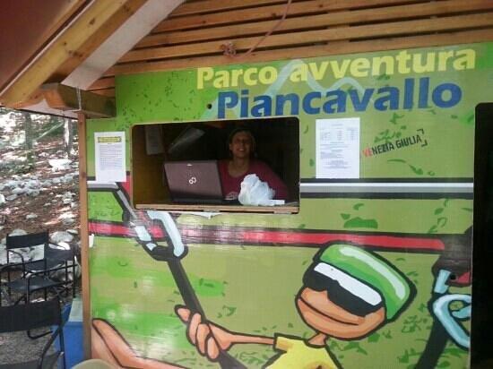 Rampy Park - Parco Acrobatico Forestale : casetta Rampy park