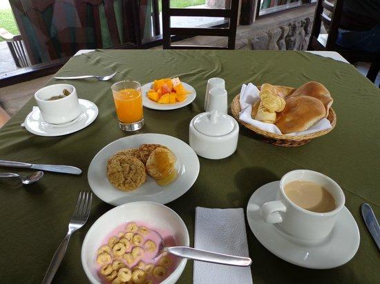 Inkallpa Valle Sagrado: desayuno