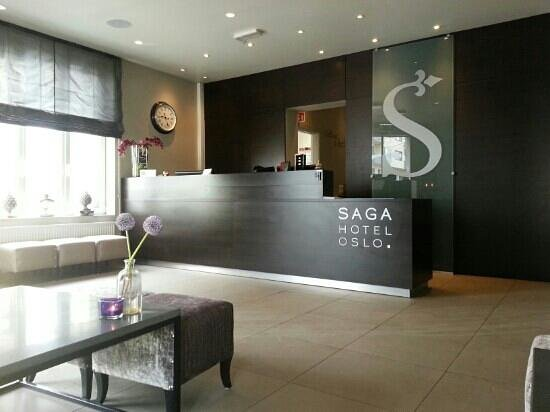 Saga Hotel Oslo: reception