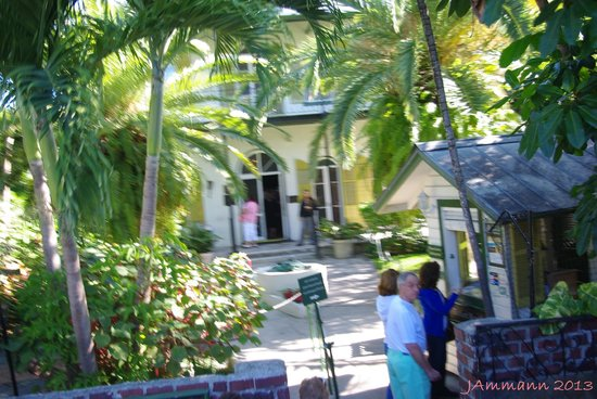 Southernmost Duck Tour: A view from the Duck - Hemingway house