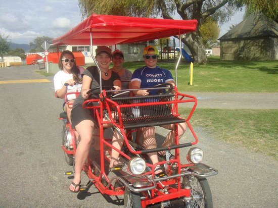 Tahuna Beach Kiwi Holiday Park and Motel : Getting around.