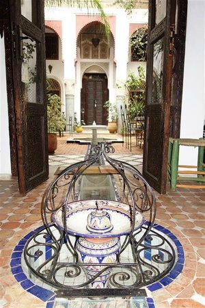 Riad El Ma: View from the dining room