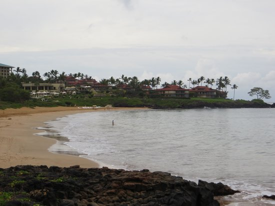 Wailea Beach Marriott Resort & Spa: beach 5 min. walk