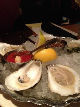 Legal Sea Foods: Oysters on the halfshell! Fresh Fresh Fresh