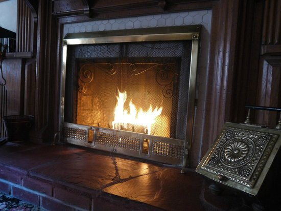 Inn New York City: Opera Suite Fireplace