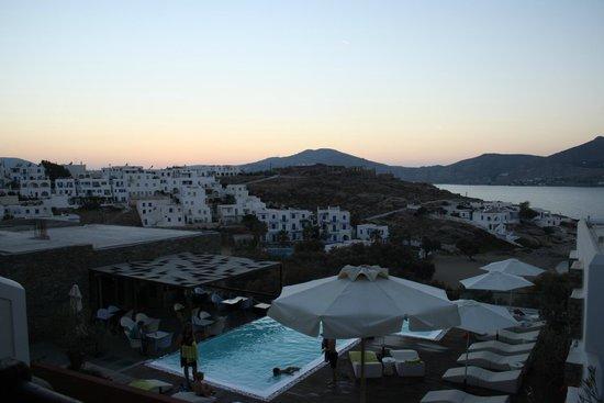 Senia Hotel: view from balcony