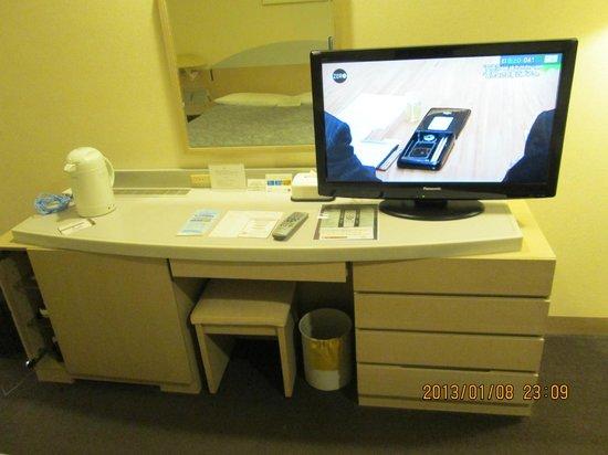Kawagoe Prince Hotel: 部屋のデスク