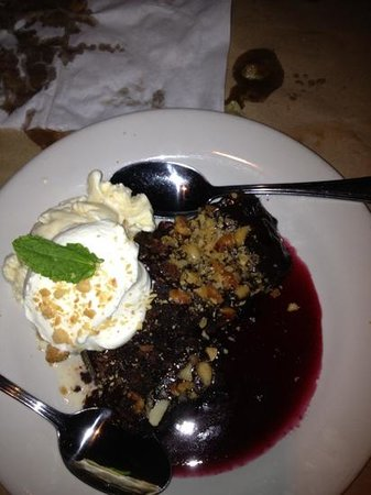 Bonefish Grill: Flourless Brownie