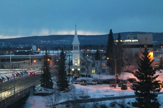 SpringHill Suites Fairbanks: View from our room