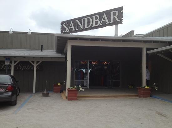 Sandbar Restaurant: entrance