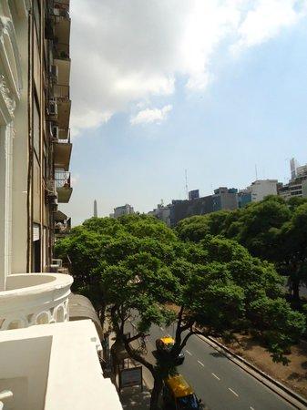 Hotel De La Ville: el obelisco