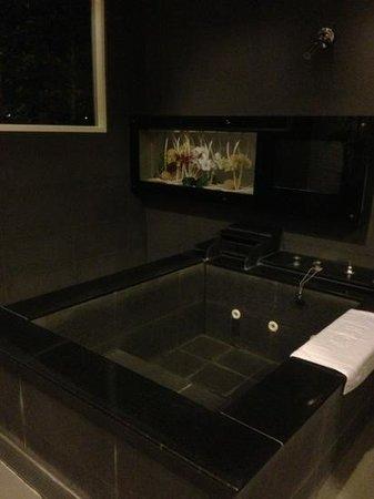 Spring Fountain Hotel: the big bath tub