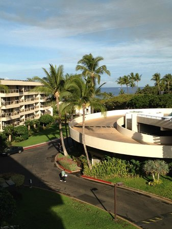 view from the room picture of aston at the maui banyan. Black Bedroom Furniture Sets. Home Design Ideas