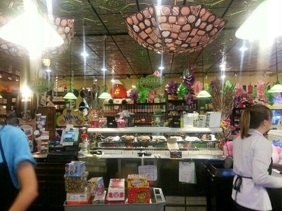 Powell's Sweet Shoppe: They have tons of candy.