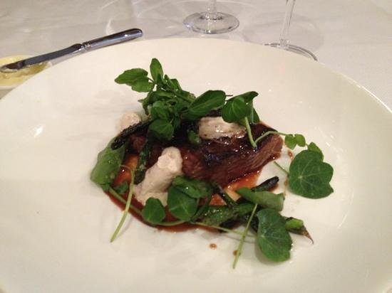 Sweet Basil: decadent short rib with whipped marrow