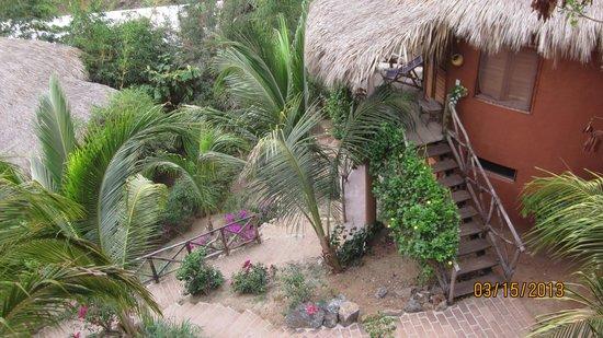 Posada de las Flores: The view from Breakfast room