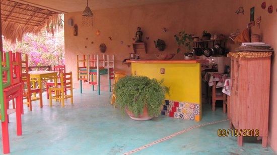 Posada de las Flores: The breakfast room