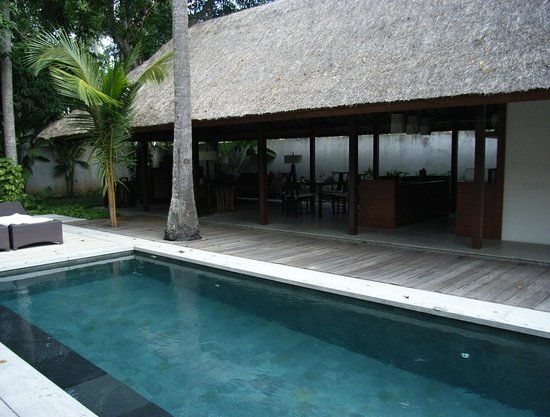 Kayumanis Jimbaran Private Estate & Spa: プールは広いです