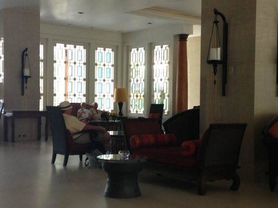 The Bayview Hotel: New lobby
