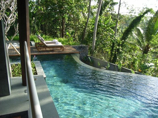 Kayumanis Ubud Private Villa & Spa: プールは広い