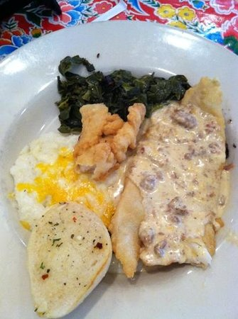 Ned's Southside Kitchen: Palm Valley Fish & Grits