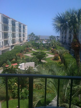Beach Club at St. Simons: Balcony View