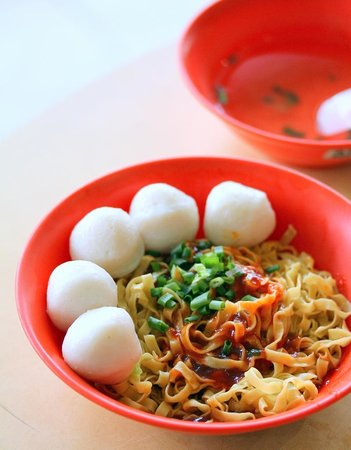 Chuan Heng Fishball Minced Meat Noodle