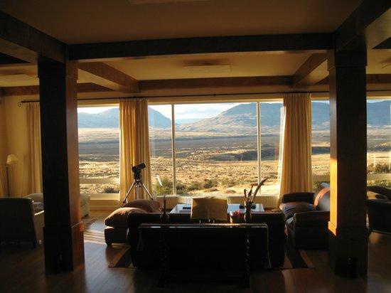 EOLO - Patagonia's Spirit - Relais & Chateaux: Sala de estar
