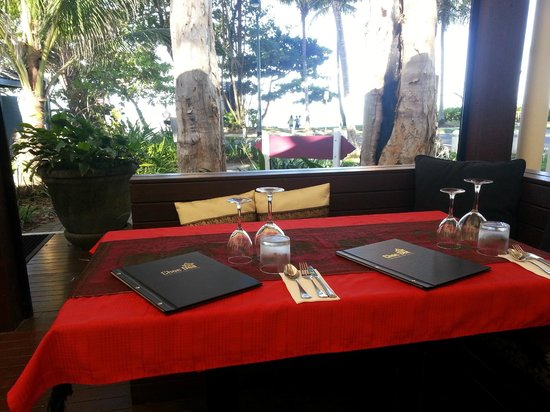 Choc Dee Thai Restaurant & Takeaway: Table 14, Booking for special occasions.