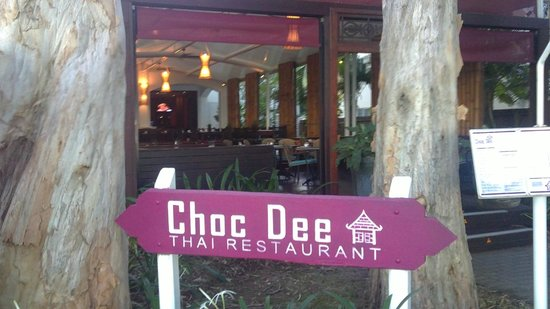 Choc Dee Thai Restaurant & Takeaway: Choc Dee Thai Restaurant