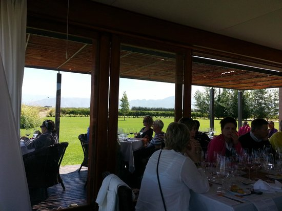 Ampora Wine Tours: Lunch at the Vineyard.