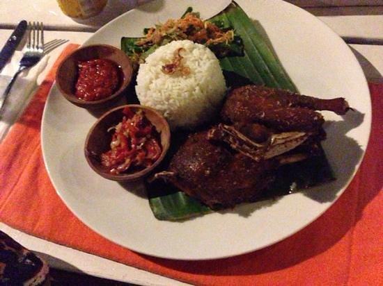 Sand Beach Club & Restaurant: crispy duck