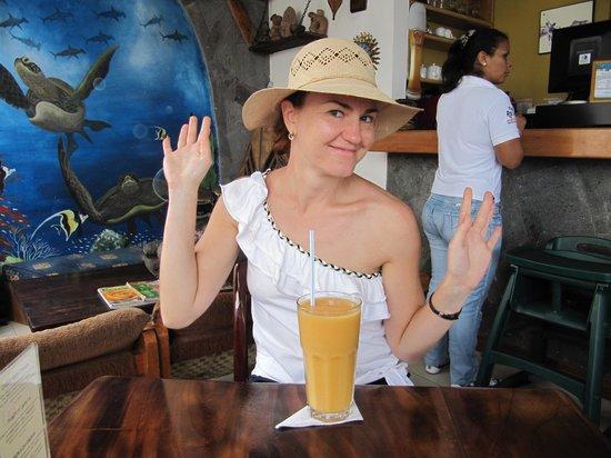 La Rocka: В кафе